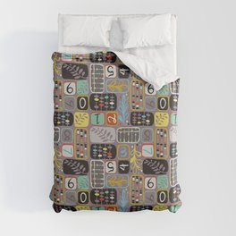 Abacus Duvet Cover