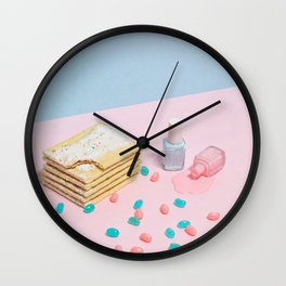 Spilled the Beans Wall Clock