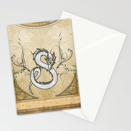 Chinese dragon Stationery Cards