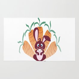 rabbit! Rug