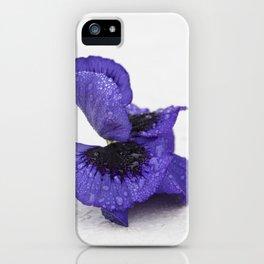 Violet spring dreams iPhone Case