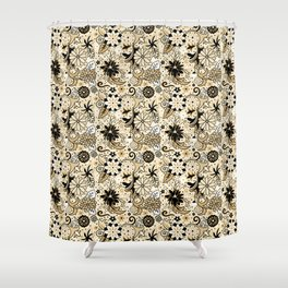 Classic Floral Shower Curtain