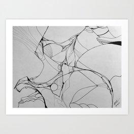 Predator and Prey Art Print
