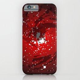 Black Hole Background iPhone Case