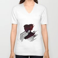 roman V-neck T-shirts featuring roman godfrey by mayra