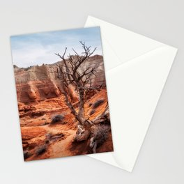 Picturesque Trail through Kodachrome Basin State Park Stationery Cards