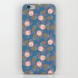 November Born - acorn pattern iPhone Skin