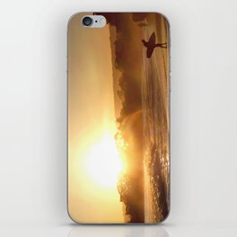 Walking Into the Sun iPhone Skin