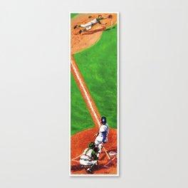 Line Drive Canvas Print