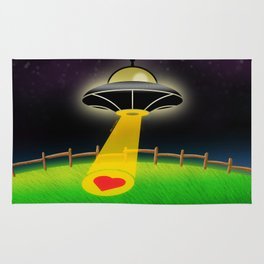 Love Abduction Rug