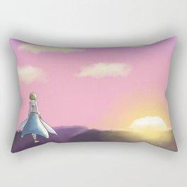 Sun Rising Rectangular Pillow