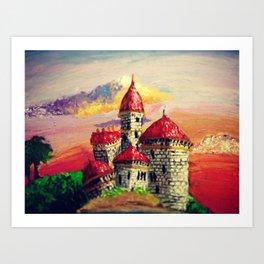 Castle by the Sea Art Print