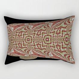 Tiled Abstract 9a Rectangular Pillow