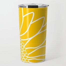 Sunflower Cheerfulness Travel Mug