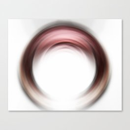 Enso Blush - Abstract Art By Sharon Cummings Canvas Print