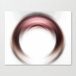 Enso Blush - Abstract Art By Sharon Cummings Canvas Print