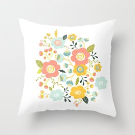 Airy GardenPillow Throw Pillow