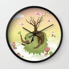 Mossiphants Wall Clock