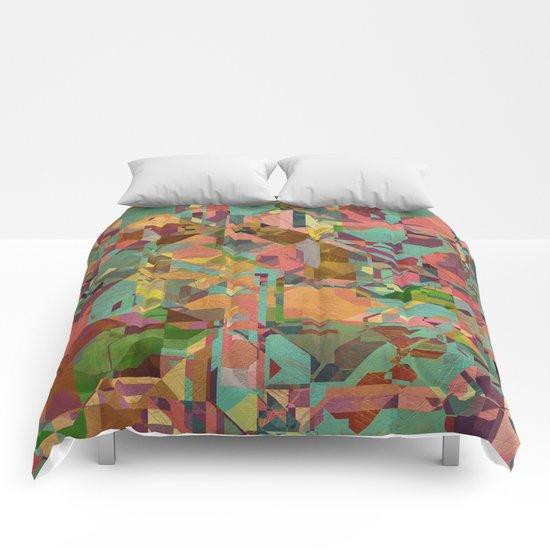 Aztec Vintage Pattern 03 Comforters