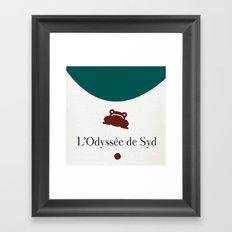 L'Odyssée de Syd Framed Art Print