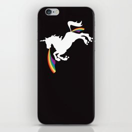Double Rainbows of Roller Derby  iPhone Skin