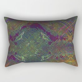 The First Fungal City of Mars Rectangular Pillow