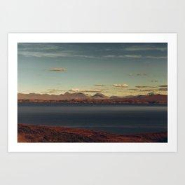 scotland in fall Art Print