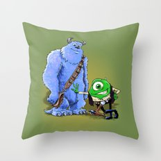 Hike and Chulley Throw Pillow