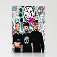 blink 182 Stationery Cards featuring Blink 182 best decoration design by customgift