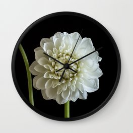Dahlia Rhonda Flower Wall Clock