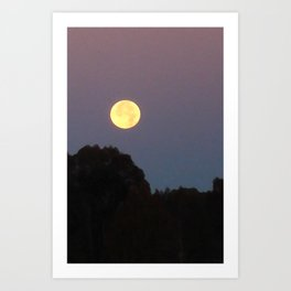 Morning After the Eclipse Art Print