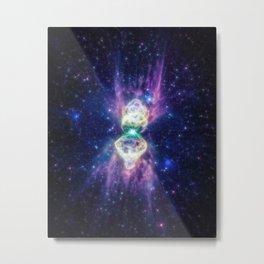 Fragmented Nebula Metal Print