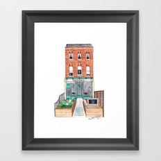 London: Wallace & Co. by Charlotte Vallance Framed Art Print