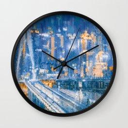 Night City Wall Clock