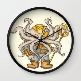 King Cthulhu/Warrior Wall Clock