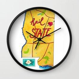 Hail State Wall Clock