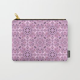Pink kaleidoscope wallpaper Carry-All Pouch