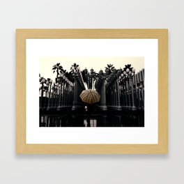 Set your color apart from others Framed Art Print