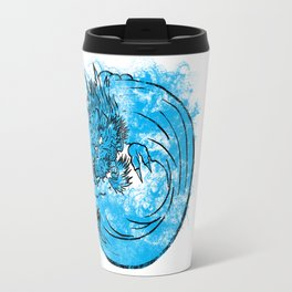 Dragon Waves Travel Mug