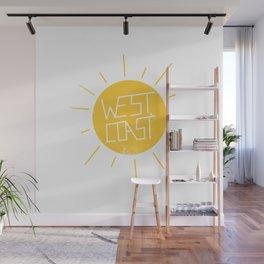 West Coast Sun Wall Mural