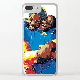 Africa Love Clear iPhone Case