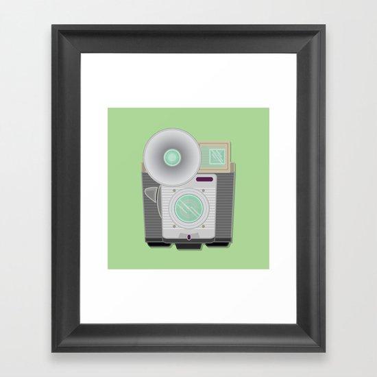Retro Cam Framed Art Print