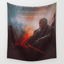 I Am Out Of The Fight Wall Tapestry