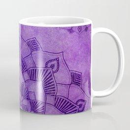 Purple Mandalas Spiritual Zen Bohemian Hippie Yoga Mantra Meditation Coffee Mug
