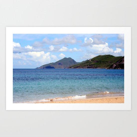 St.Kitts Art Print
