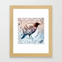Crowgard (Terra Indigene) Framed Art Print