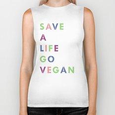 Go vegan Biker Tank