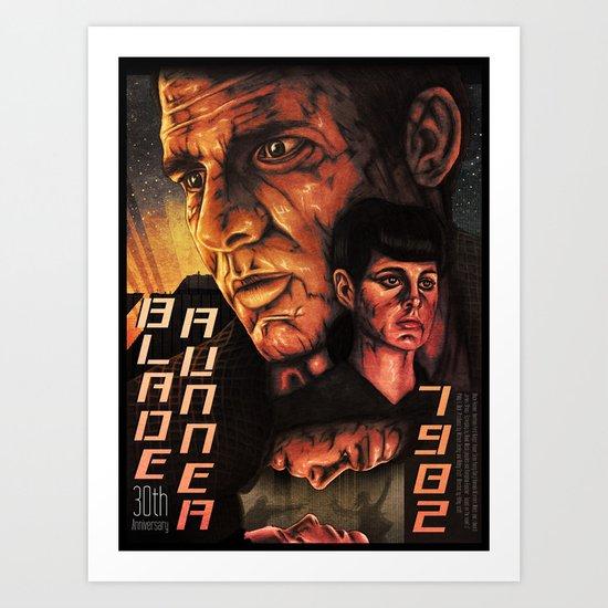 Blade Runner 30th anniversary 2scd Art Print