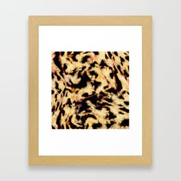 Eroding the thought Framed Art Print