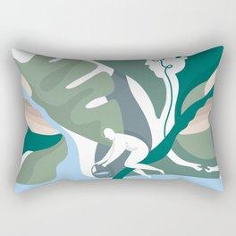 Planet Cure Rectangular Pillow